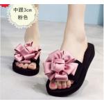 รองเท้าแฟชั่น รองเท้าแตะ รองเท้ามัฟฟิน Sandals female summer outdoor fashion