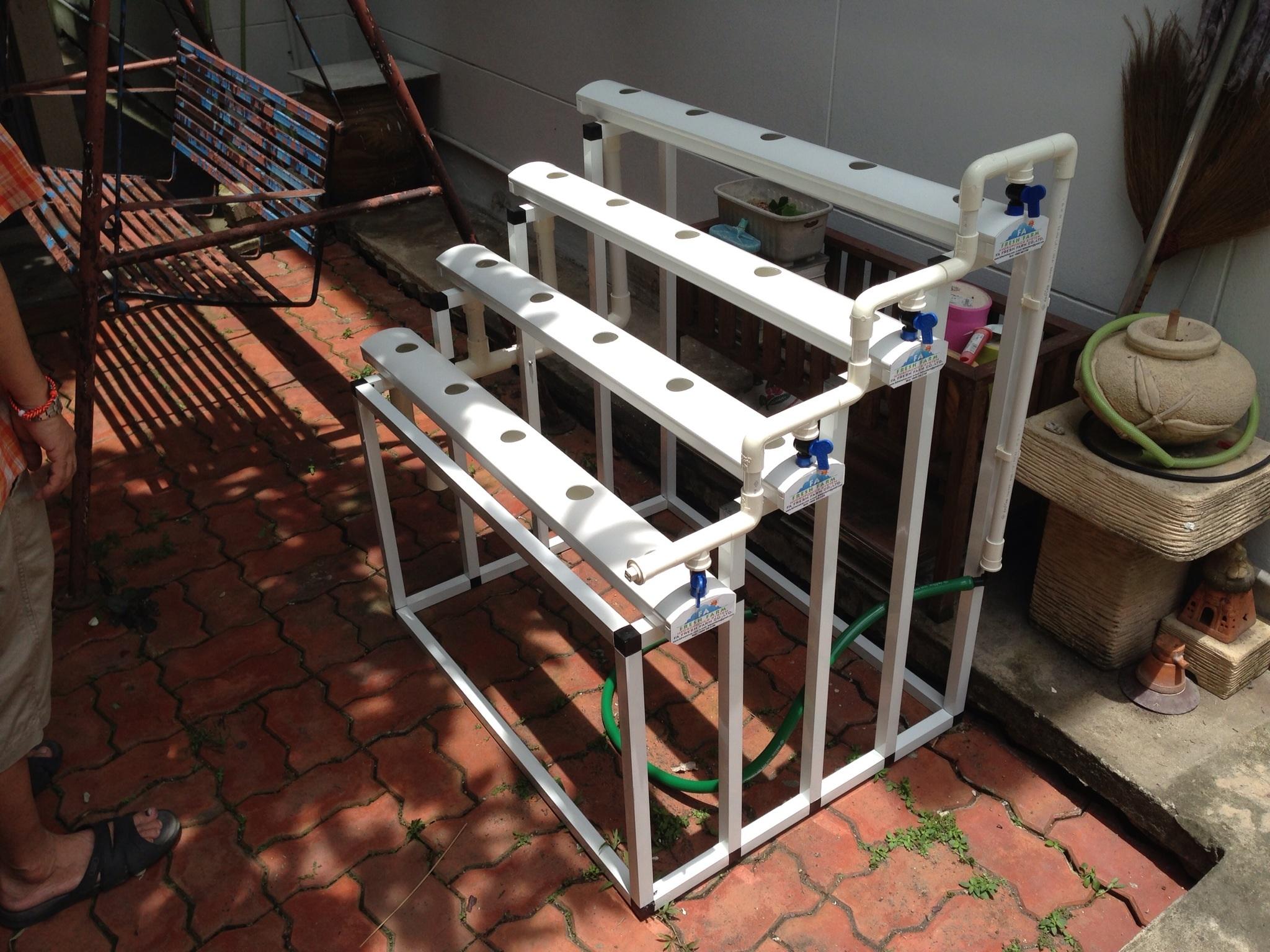 ชุดปลูกผักไฮโดรโปนิกส์ Hydro Hobby Set S104