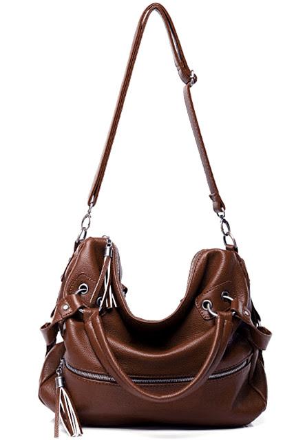 กระเป๋า Axixi ของแท้ รุ่น D08 (Drak Brown)