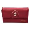 กระเป๋าสตางค์ Samilon สีแดง ขนาดกลาง คล้องข้อมือได้