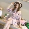 JY21753#เสื้อแฟชั่นสไตล์เกาหลีแบบเรียบหรู