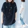 เสื้อOVERSIZE ใส่ตั้งแต่สาวผอม-สาวอวบ น้ำหนักตัว50-100กิโลกรัม