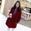 ไซส์ L : เสื้อโค้ทกันหนาว สไตล์เกาหลี ทรงเรียบง่าย ทรงยาว ดูดี ผ้าวูลผสมบุซับในกันลม จะใส่คลุม หรือใส่เป็นโค้ทก้สวยเก๋ พร้อมส่งจ้า