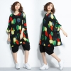 JY24988#เสื้อOversizeสไตล์เกาหลี เสื้อโอเวอร์ไซส์แต่งลายแนวๆ อก*100ซม.ขึ้นไปประมาณ40-42นิ้วขึ้น