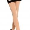 สีเนื้อ : Legging เลกกิ้งกันหนาว รัดส้นเท้า เนื้อนุ่ม ด้านในเป็นผ้าสำลี ไม่หนามาก ยืดได้เยอะ ใส่สบาย