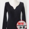 XL สีดำ รุ่นหนาพิเศษ : ลองจอน บุขนด้านในนุ่ม ผ้านุ่ม ยืดได้เยอะ อุ่นมากกกก พร้อมส่ง