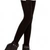 สีดำ : Legging เลกกิ้งกันหนาว รัดส้นเท้า เนื้อนุ่ม ด้านในเป็นผ้าสำลี ไม่หนามาก ยืดได้เยอะ ใส่สบาย
