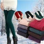 Legging เลกกิ้งกันหนาว รัดส้นเท้า เนื้อนุ่ม ด้านในเป็นผ้าสำลี ไม่หนามาก ยืดได้เยอะ ใส่สบาย