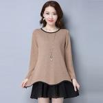 เสื้อผ้าแฟชั่นเกาหลีไซส์ใหญ่ Large size women t-shirt shirt female