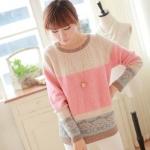 Sweetie Sweater เสื้อไหมพรมสีหวาน พร้อมส่ง