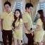 ชุดคู่รัก พร้อมส่ง สีเหลือง น่ารักสบายๆ ราคาเป็นคู่แล้วค่ะ thumbnail 1