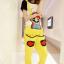 ชุดเอี๊ยม สีเหลือง jumpsuit Super Mario เอวยืด พร้อมสายเอี๊ยมแบบถอดได้ น่ารักมากๆ thumbnail 1