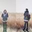 ผ้าพันคอกันหนาว ไหมพรม เกาหลี สีดำแซมขาว น่ารักคุณหนู พร้อมส่ง thumbnail 4