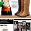 Boots รองเท้าบูท หนังสีน้ำตาลอ่อนแบบยาว เสริมส้นด้านใน บุขนแกะอุ่นและนุ่มมาก งานดีเหมือนแบบค่ะ thumbnail 2