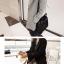 เสื้อโค้ทกันหนาว สไตล์เกาหลี ทรงสวย Classic ผ้าสำลีเนื้อเบา บุซับในกันลม สีดำ พร้อมส่ง thumbnail 3