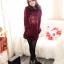 เสื้อกันหนาว แบบสวม ฮูดดี้ น่ารัก เลือกสีด้านในเลยจ้า thumbnail 3