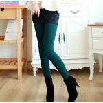 สีเขียวเข้ม : Legging เลกกิ้งกันหนาว ลองจอน เนือผ้ามีประกายในตัว ด้านในเป็นขนนุ่ม อุ่นมั่กๆ ยืดได้เยอะ กระชับทรง พร้อมส่งเลยจ้า