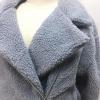 สีเทา : เสื้อกันหนาว ผ้าขนแกะฟูๆ น่ารัก ผ้าเนื้อฟู
