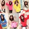 เสื้อกันหนาวฮู้ดดี้ แฟชั่นเกาหลี หูหมี น่ารัก ราคาโดนๆ เลือกสีที่ชอบด้านในเลยจ้า