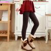 สีน้ำตาลเข้ม : Legging เลกกิ้งกันหนาว ลองจอน เนือผ้ามีประกายในตัว ด้านในเป็นขนนุ่ม อุ่นมั่กๆ ยืดได้เยอะ กระชับทรง พร้อมส่งเลยจ้า