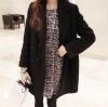 ไซส์ XL : เสื้อโค้ทกันหนาว สไตล์เกาหลี ทรงเรียบง่าย ทรงยาว ดูดี ผ้าวูลผสมบุซับในกันลม จะใส่คลุม หรือใส่เป็นโค้ทก้สวยเก๋ พร้อมส่งจ้า