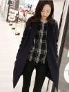 เสื้อโค้ทกันหนาว ทรงสวย แบบผู้ดีมาก ผ้าวูลเนื้อดี บุซับในกันลม จะใส่คลุม หรือใส่เป็นเสื้อโค้ทปกติก็เก๋ค่า งานดีเลยน้ารุ่นนี้ พร้อมส่งจ้า