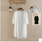 เสื้อสุภาพสตรีอ้วน XL-2XL