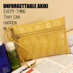 กระเป๋า พร้อมส่ง คุณภาพดี สีเหลือง Band axixi