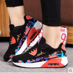 -รองเท้าผ้าใบเสริมส้น