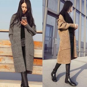เสื้อคลุมกันหนาว ไหมพรม พร้อมส่ง เรียบหรู ดูดีเหมือนแบบ ใครชอบแนวเกาหลีๆ จัดเลยนะคะ