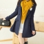LADY COAT เสื้อโค้ทกันหนาว ทรงหวานๆ สไตล์เกาหลี พร้อมส่ง thumbnail 1