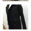 เสื้อโค้ทกันหนาว ทรงเรียบหรู มีสไตล์ ผ้าวูลเนื้อดีหนานุ่ม บุซับในกันลม พร้อมส่งจ้า thumbnail 9