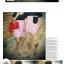 ชุดคู่รัก เกาหลี สีกรม+ขาวแดง ชุดผู้หญิงทรงน่ารัก ราคา/คู่ thumbnail 2