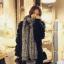 ผ้าพันคอกันหนาว ไหมพรม เกาหลี สีเทาลาย ดูดีไฮโซ พร้อมส่ง thumbnail 1