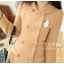 LADY COAT เสื้อโค้ทกันหนาว ทรงหวานๆ สไตล์เกาหลี พร้อมส่ง thumbnail 6