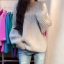 Sweater เสื้อไหมพรมถัก มีประกายวิ้งๆ ในตัว สีเทา ใส่ตัวเดี๋ยวได้เลยเก๋ๆ ยืดได้เยอะ น่ารักมากจ้าา thumbnail 1