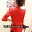 พร้อมส่ง - สีแดง เสื้อสูท เก๋ๆ ทรงสวย thumbnail 3