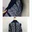เสื้อกันหนาวไหมพรมถักถัก ทรงสวย ดูดีมากค่ะ สีกรมครีม ผู้ดีมากๆ thumbnail 3