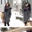 เสื้อโค้ทกันหนาว สีดำ ทรงสวย ใส่ได้หลายแบบ ผ้าดีบุซับในกันลม thumbnail 7