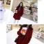 เสื้อโค้ทกันหนาว สไตล์เกาหลี ทรงเรียบง่าย ทรงยาว ดูดี ผ้าวูลผสมบุซับในกันลม จะใส่คลุม หรือใส่เป็นโค้ทก้สวยเก๋ พร้อมส่งจ้า thumbnail 4