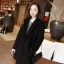 เสื้อโค้ทกันหนาว สไตล์เกาหลี ทรงสวย Classic ผ้าสำลีเนื้อเบา บุซับในกันลม สีดำ พร้อมส่ง thumbnail 1