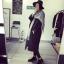 เสื้อโค้ทกันหนาว สไตล์เกาหลี ตัวโคล่ง สีดำ ผ้าสำลีเนื้อไม่หนามาก บุซับในกันลม ใครชอบแนวๆ แนะนำตัวนี้เลยจ้า thumbnail 3