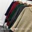 Sweater สีเขียว เสื้อไหมพรมถักคอตั้งตัวยาว ใส่ตัวเดียวเป็นเดรสได้เลย เก๋ๆ ไหมพรมนุ่มยืดได้เยอะ thumbnail 6